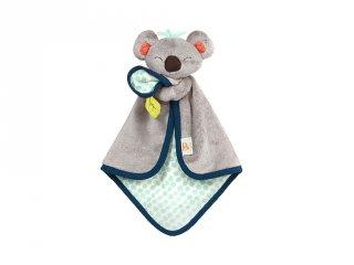 Koala puha szundikendő, bébijáték (31x21 cm)