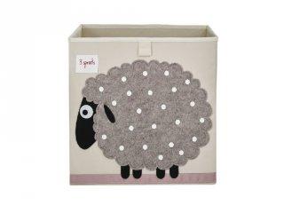 Kockatároló bárány, gyerekszoba kiegészítő (3SPR)