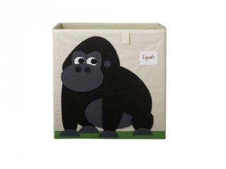 Kockatároló gorilla, gyerekszoba kiegészítő (3SPR)
