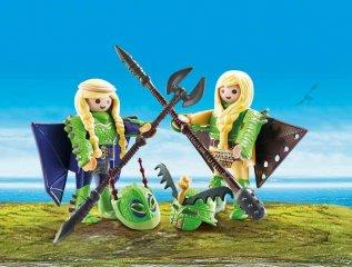 Kőfej és Fafej, Így neveld a sárkányodat, Playmobil szerepjáték (70042, 4-10 év)