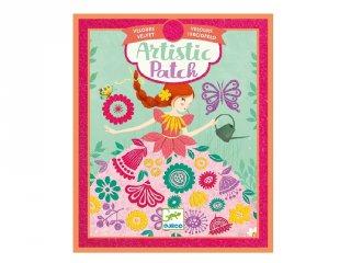 Kollázs műhely Kis hölgyek, Djeco kreatív készlet - 9468 (6-10 év)
