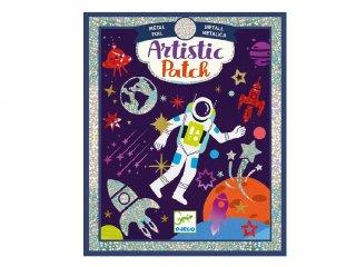 Kollázs műhely Űrben, Djeco kreatív készlet - 9462 (6-10 év)
