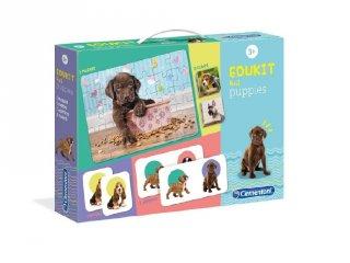 Kölyök kutyusok, 4 az 1-ben játékgyűjtemény (CLEM, 3-6 év)