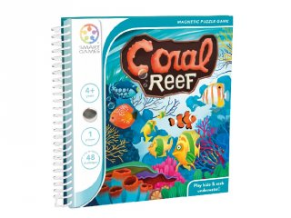 Korallvilág, Smart Games egyszemélyes, mágneses logikai játék (4-10 év)