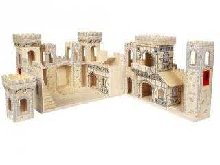 Középkori vár, kinyitható (Melissa&Doug, 1329, épület szerepjátékhoz, 3-7 év)