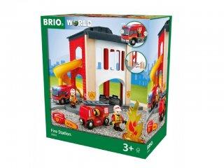 Központi tűzoltó állomás (Brio, 33833, vonatos fajáték, 3-10 év)