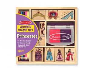 Kreatív nyomda készlet: Hercegnős (Melissa&Doug, 12418, kreatív szett, 4-9 év)