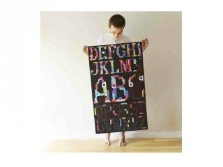 Kreatív poszter készítés 1600 db puzzle matricával, ABC (Poppik, 7-12 év)