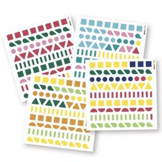 Kreatív poszter készítés 360 db puzzle matricával, Tündérlények (Poppik, 4-6 év)