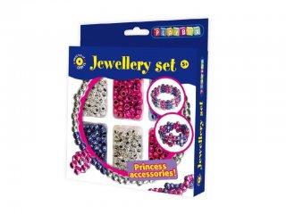Kreatív szett, fémes gyöngyök (Playbox, kreatív játék, 5-8 év)