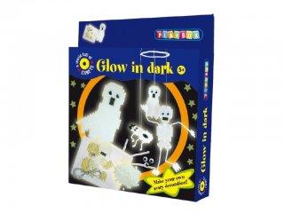 Kreatív szett, fluoreszkáló szellemek (2470533, Playbox, kreatív játék, 5-8 év)