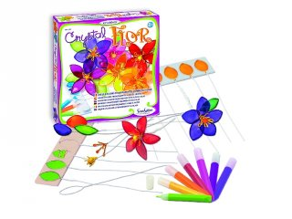 Kristályvirágok készítése (SentoSphére, kreatív készlet, 8-99)