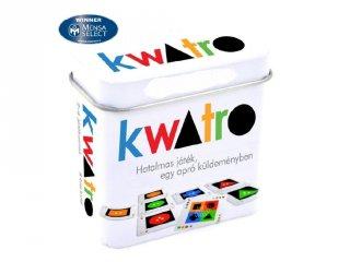 Kwatro stratégiai társasjáték, kártyajáték (8-99 év)