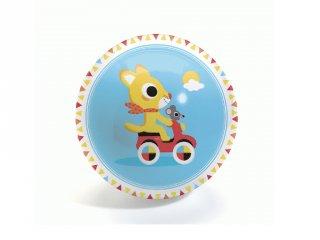 Labda 12 cm-es, Cute race Ball, Djeco mozgásfejlesztő játék - 104 (1-6 év)