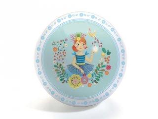 Labda 22 cm-es, Miss Cherry Ball, Djeco mozgásfejlesztő játék - 166 (1-6 év)