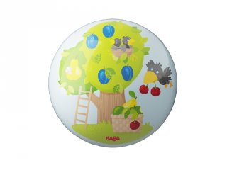 Labda gyümölcsöskert, Haba mozgásfejlesztő játék (15 cm, 2-7 év)
