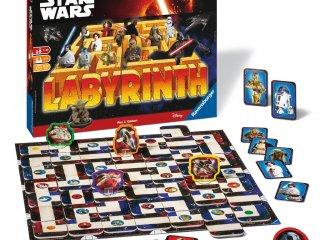 Labirintus, Star Wars (Ravensburger, Csillagok Háborúja társasjáték, 7-99 év)