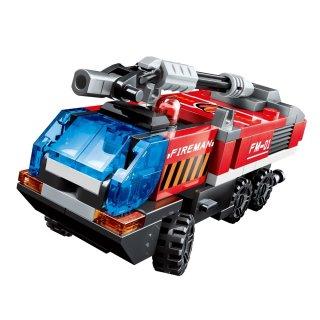 Lángoló Mars, 6 az 1-ben Lego kompatibilis építőjáték készlet (QMAN, 1416D, 6-12 év)