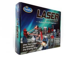 Laser Chess, Lézer sakk kétszemélyes stratégiai játék (Thinkfun, 9-99 év)