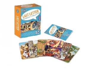 Last Letter, Utolsó betű (Thinkfun, 33156, szólánc társasjáték, 7-99 év)