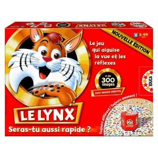 Le Lynx, a megfigyelés és gyorsaság társasjátéka (4-99 év)