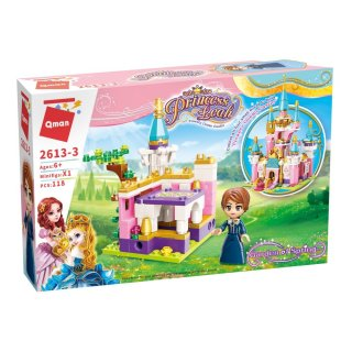 Leah hercegkisasszony palotája, 4 az 1-ben Lego kompatibilis építőjáték készlet (QMAN, 2613, 6-12 év)