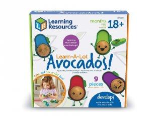 Learn-A-Lot Avocados, fedezd fel az érzelmeket! babajáték (6806, Learning Resources, 1,5-4 év)