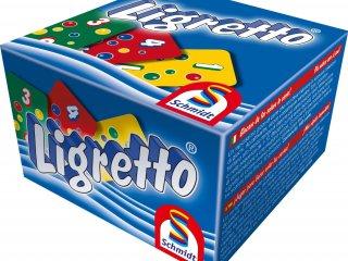 Ligretto, kék (Schmidt spiele, gyorsasági kártyajáték, 8-99 év)