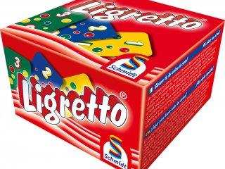 Ligretto, piros (Schmidt spiele, gyorsasági kártyajáték, 8-99 év)