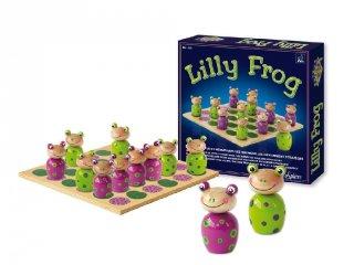 Lilly Frog (Sentosphere, kétszemélyes stratégiai társasjáték, 4-12 év)