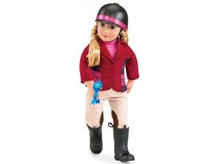 Lily Anna lovagló baba (Our Generation, 46 cm-es játékbaba, 3-9 év)