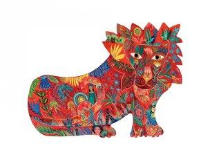 Lion, oroszlán 150 db-os Djeco művészi puzzle (7654, 6-99 év)