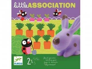 Little association (Djeco, 8553, memórifejlesztő társasjáték, 2-5 év)