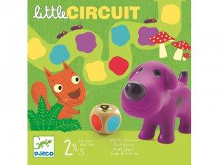 Little circuit (Djeco, 8550, lépegetős társasjáték 2-5 év)