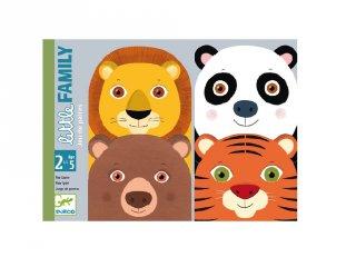 Little Family, Djeco pártaláló kártyajáték - 5062 (2-5 év)