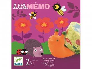 Little mémo (Djeco, 8552, memória társasjáték, 2-5 év)
