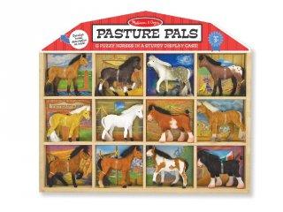 Ló figurák (Melissa&Doug, 592, 12 db-os szerepjáték, 3-10 év)