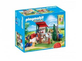 Ló fürdető, Playmobil szerepjáték (6929, 4-10 év)