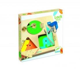 LockBasic Csiki-csuki, Djeco készségfejlesztő játék - 6213 (3-6 év)