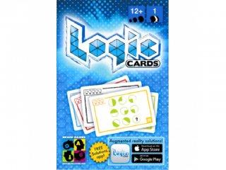Logic Cards, Kék (Brain Games, 5 szint, 53 feladványos logikai játék, okostelefonos ellenőrzéssel, 12-99 év)