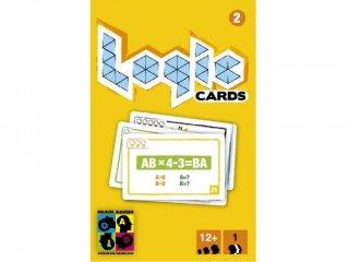 Logic Cards, Sárga (Brain Games, 5 szint, 53 feladványos logikai játék, okostelefonos ellenőrzéssel, 12-99 év)