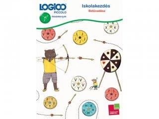 LOGICO Piccolo, Iskolakezdés: Betűvadász (3305, egyszemélyes, vizuális, fejlesztő játék, 5-8 év)