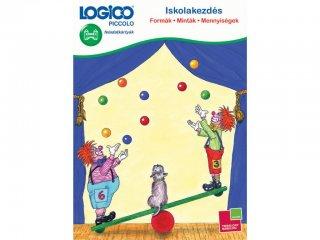 LOGICO Piccolo, Iskolakezdés: Formák - Minták - Mennyiségek (3302, egyszemélyes, logikai, fejlesztő játék, 5-8 év)