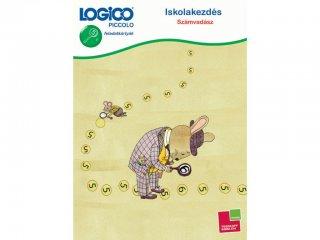 LOGICO Piccolo, Iskolakezdés: Számvadász (3306, egyszemélyes, logikai, vizuális, fejlesztő játék, 5-8 év)