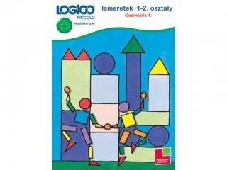 LOGICO Piccolo, Ismeretek 1-2. osztály: Geometria 1. (3446, egyszemélyes, matematikai, fejlesztő játék, 5-8 év)