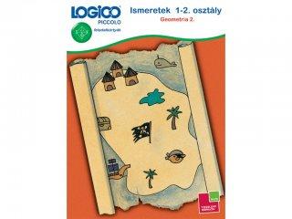 LOGICO Piccolo, Ismeretek 1-2. osztály: Geometria 2. (3447, egyszemélyes, matematikai, fejleszto, 5-8 év)