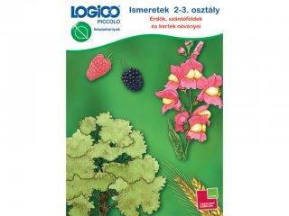 LOGICO Piccolo, Ismeretek 2-3. osztály: Erdők, szántóföldek környezetismeret (3462, egyszemélyes, természetismereti, fejlesztő, 8 éves kortól)