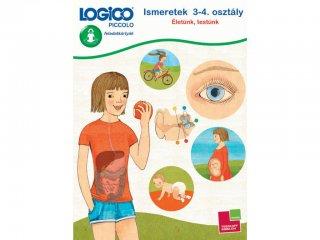 LOGICO Piccolo, Ismeretek 3-4. osztály: Életünk, testünk (5410, egyszemélyes, vizuális, fejlesztő játék, 8 éves kortól)