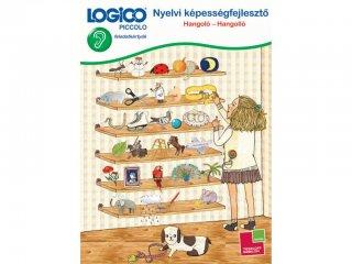 LOGICO Piccolo, Nyelvi képességfejlesztő: Hangoló-Hangolló (3307, egyszemélyes, beszédfejlesztő játék, 5-8 év)