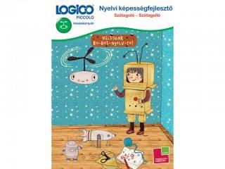 LOGICO Piccolo, Nyelvi képességfejlesztő: Szótagoló szótagolló (3308, egyszemélyes, beszédfejlesztő játék, 5-8 év)